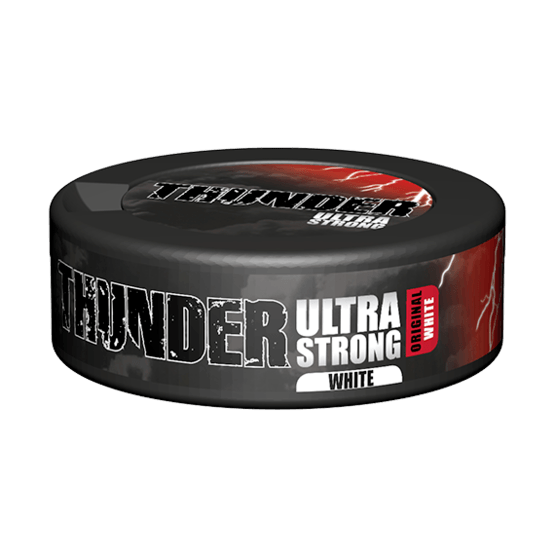 Thunder Ultra Strong White Portionssnus
