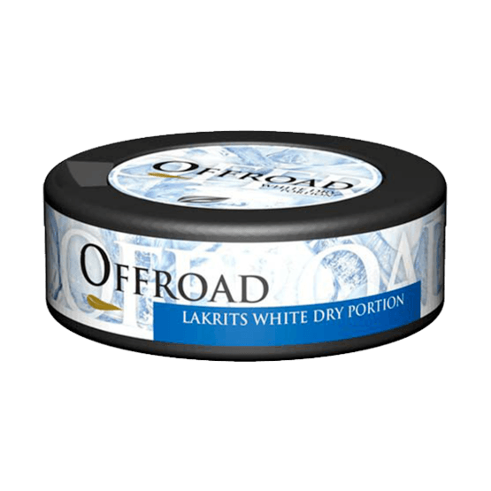 Offroad Lakrits White Dry Portionssnus