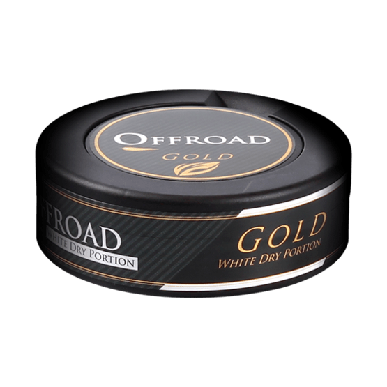 Offroad Gold White Dry Portionssnus