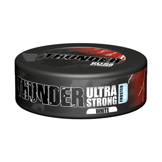 Thunder Ultra Frosted White Portionssnus