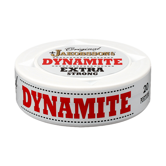 Jakobssons Dynamite Extra Strong Portionssnus