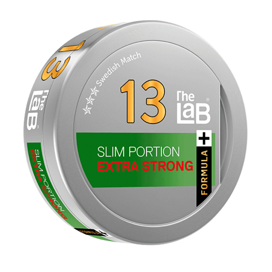 The Lab Series 13 Extra Strong Formula+ Portionssnus