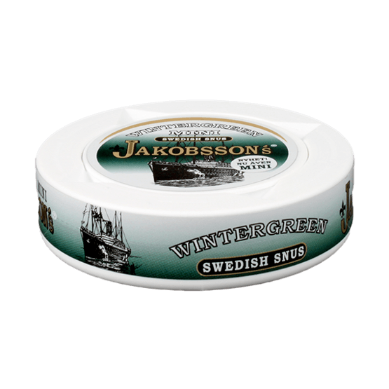 Jakobssons Wintergreen Mini Portionssnus