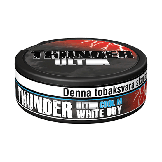Thunder Ultra Cool Mint White Dry Portionssnus