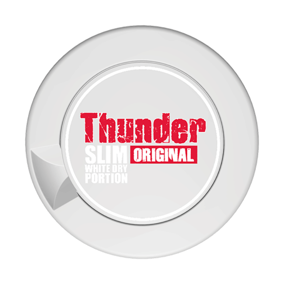 Thunder Original Slim White Dry Portionssnus
