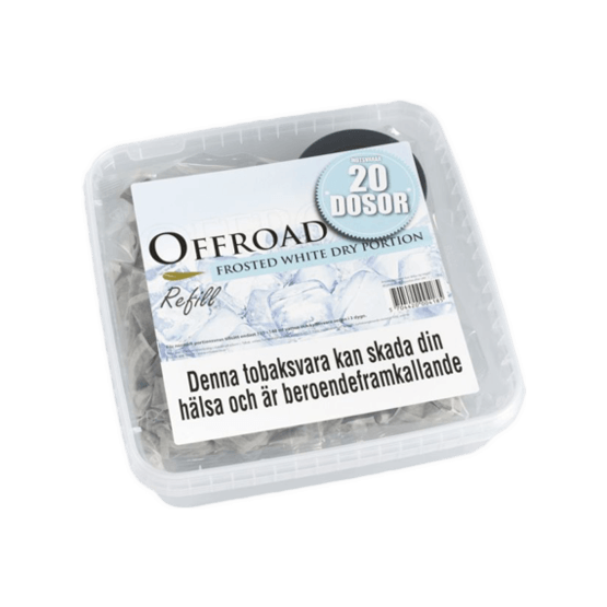 Offroad Frosted White Dry Refill
