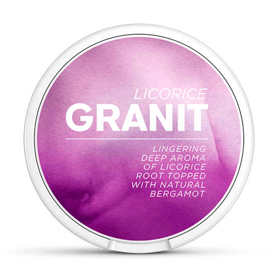 Granit Sensations Licorice Portionssnus