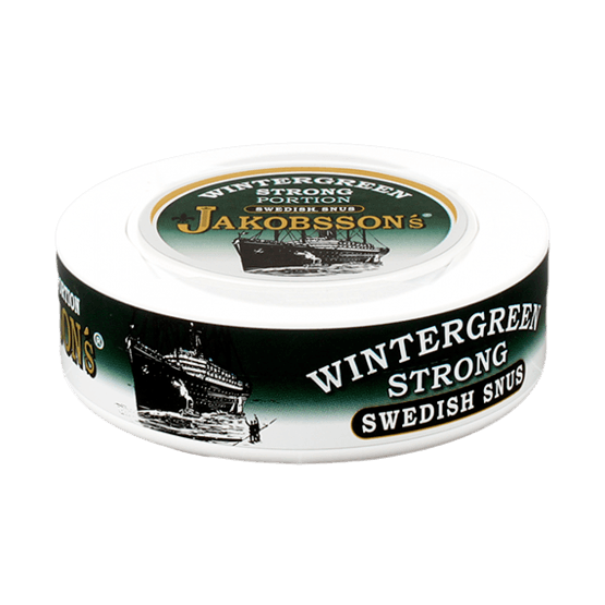 Jakobssons Wintergreen Strong Portionssnus