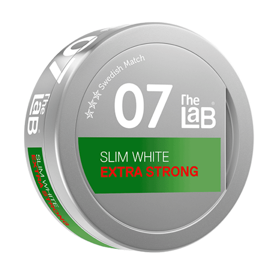 The Lab Series 07 Extra Strong White Portionssnus