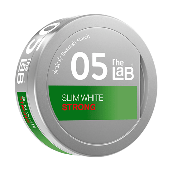 The Lab Series 05 Strong White Portionssnus