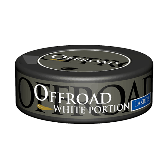 Offroad Lakrits White Portionssnus