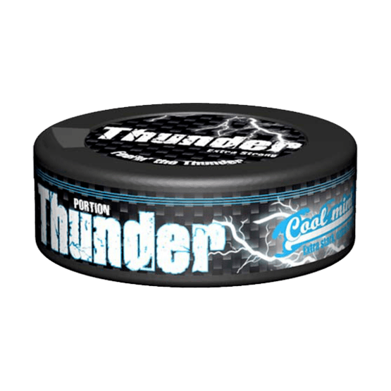 Thunder Cool Mint Portionssnus
