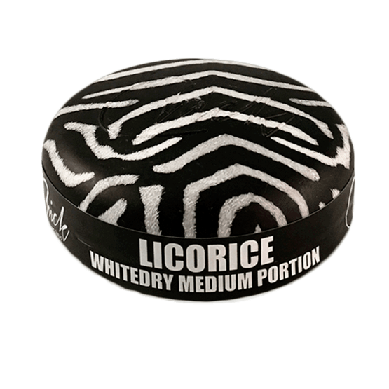 Chick Licorice White Portionssnus