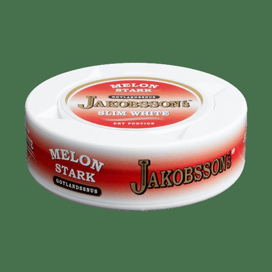 Jakobssons Melon Slim White Dry Portionssnus