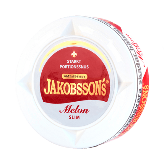 Jakobssons Melon Slim White Dry Portionssnus
