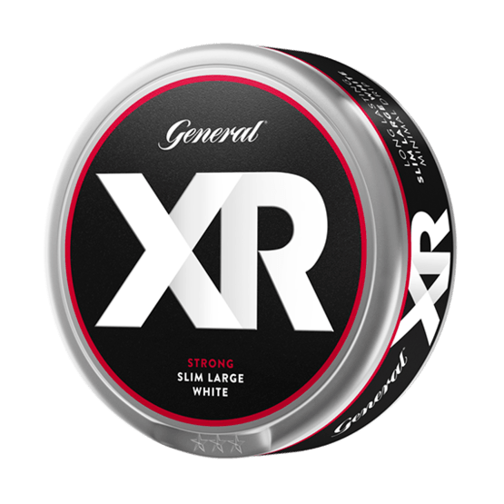 General Xrange Strong White Portionssnus