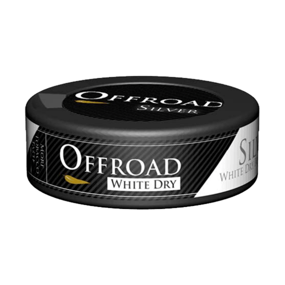 Offroad Silver White Dry Portionssnus