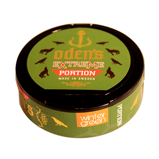 Odens Creamy Wintergreen Extreme Portionssnus