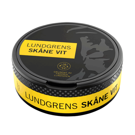 Lundgrens Skåne Vit Portionssnus