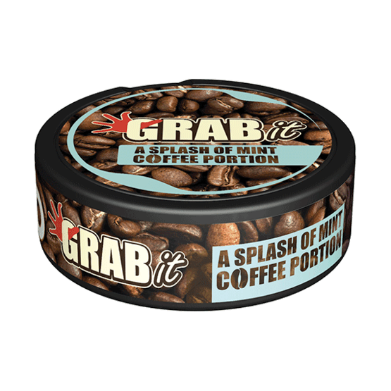 Grab Mint Coffee Nikotinfritt snus