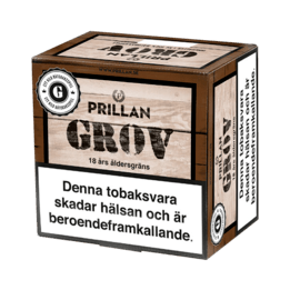 Snussats Prillan GROV 1KG
