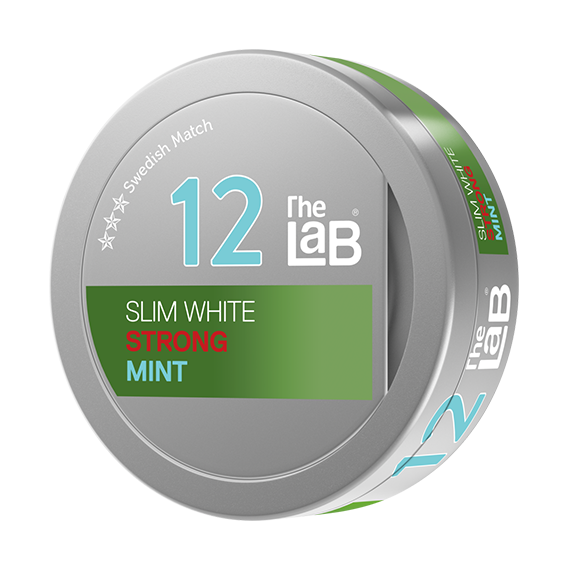 The Lab Series 12 Strong White Fresh Mint | Snusbolaget.se