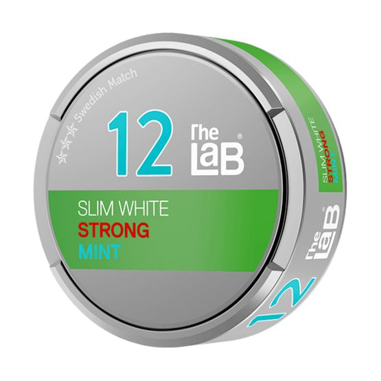 The Lab Series 12 Strong White Fresh Mint Portionssnus