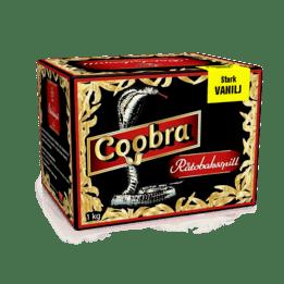 Snussats Coobra Röd - Stark Vanilj 1KG