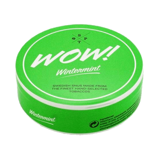 WoW! Wintermint White Portionssnus