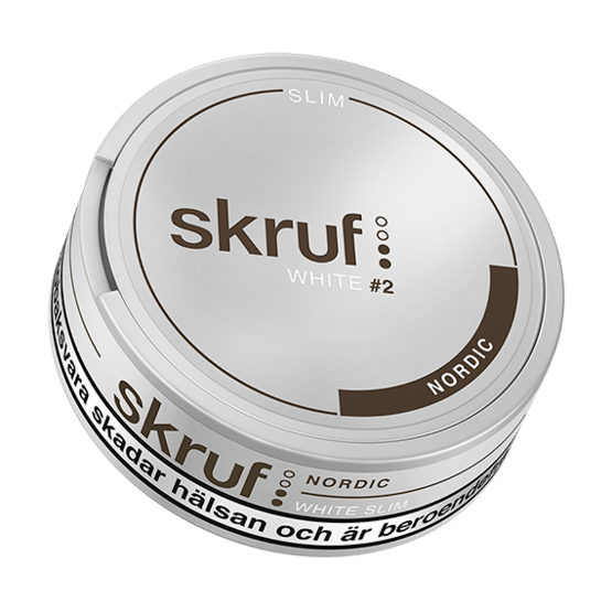 Skruf Slim Nordic White Portionssnus