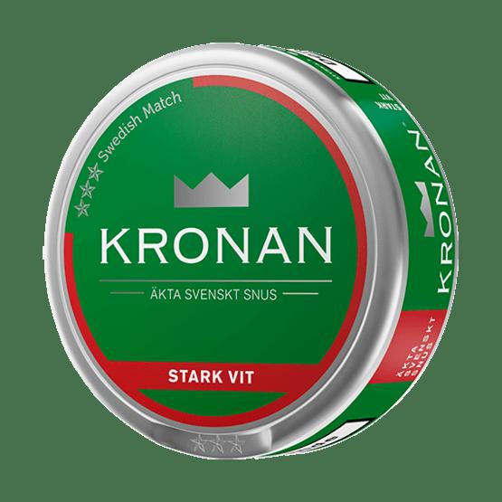 Kronan Stark Vit Portionssnus