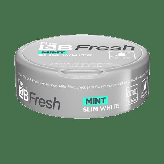The Lab Fresh Slim White Mint Portionssnus