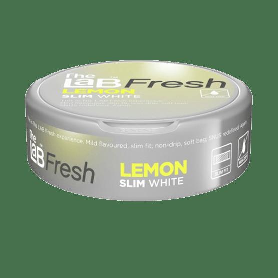 The Lab Fresh Slim White Lemon Portionssnus