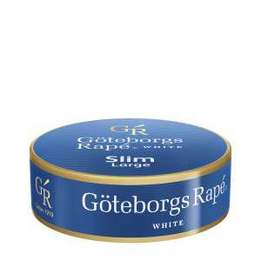 Göteborgs Rapé Slim White Large Portionssnus