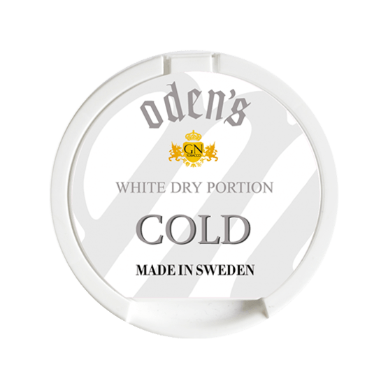 Odens Cold White Dry Portionssnus