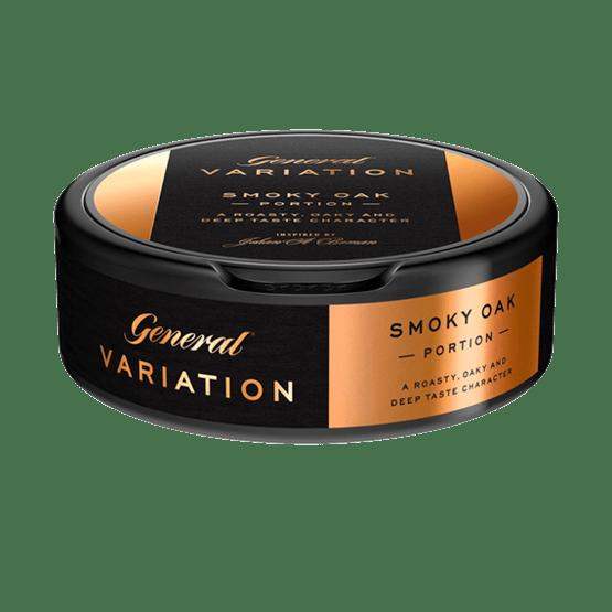 General Variation Smoky Oak Portionssnus
