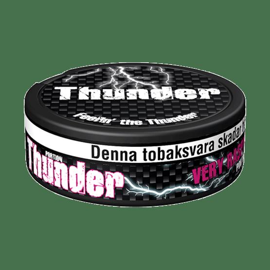 Thunder Extra Stark Raspberry Portionssnus