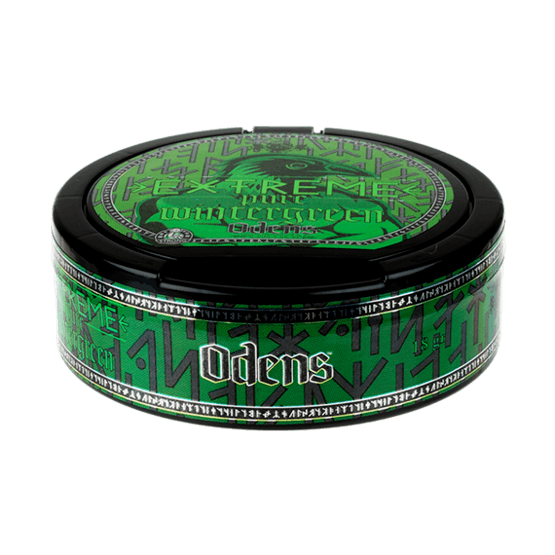 Odens Extreme Pure Wintergreen Portionssnus