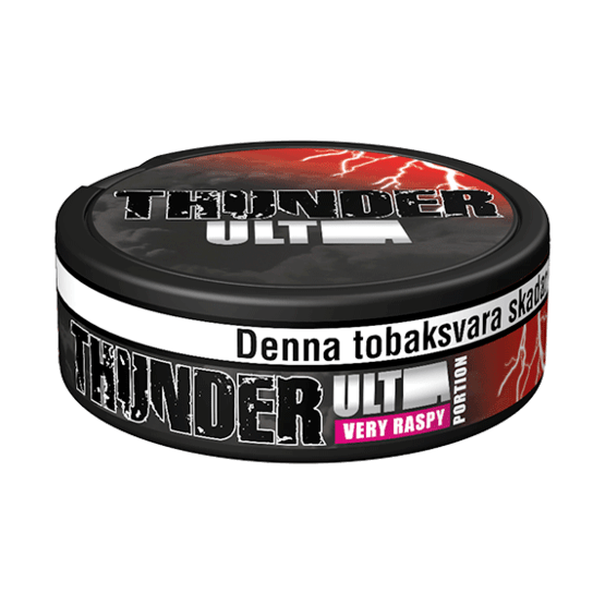 Thunder Ultra Raspberry Portionssnus