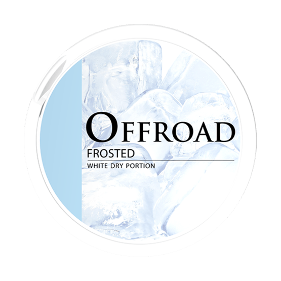 Offroad Frosted White Dry Portionssnus