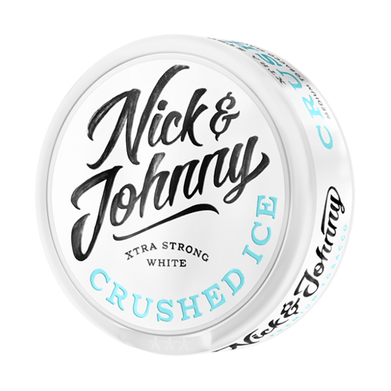 Nick and Johnny Crushed Ice Xtra Strong White Portionssnus