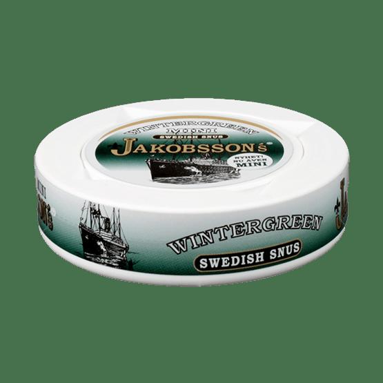 Jakobssons Wintergreen Mini Portionssnus