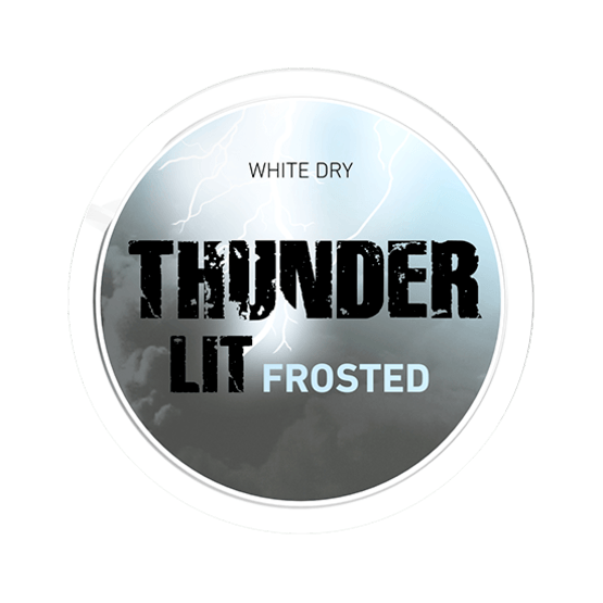 Thunder Ultra Frosted White Dry Portionssnus