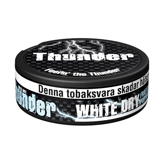 Thunder Extra Strong Frosted White Dry Portionssnus