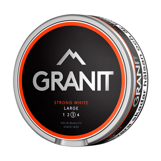 Granit Strong White Portion Large