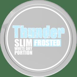 Thunder Frosted Slim White Dry