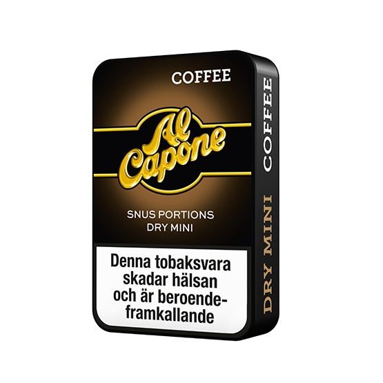 Al Capone Coffee White Minisnus