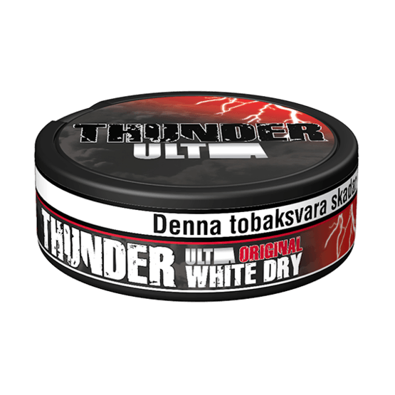 Thunder Ultra Original White Dry Portionssnus