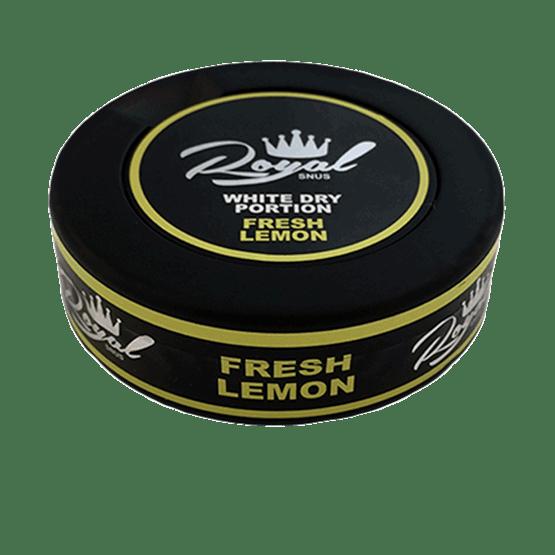 Royal Lemon White Dry Portionssnus