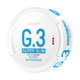 General G.3 Super Slim Mint Strong Portionssnus